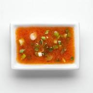 Томатный с овощами соус Фото