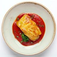 Голубец овощной с соусом Фото