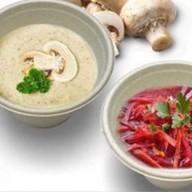 Суп-пюре со шпинатом и брокколи Фото