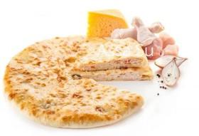 Пирог с курицей, сыром,грибами Паддзахон - Фото