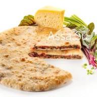 Пирог со свекольными листьями и сыром Фото