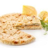 Пирог с осетинским сыром и укропом Фото