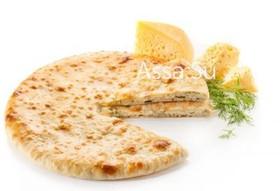 Пирог с осетинским сыром и укропом - Фото