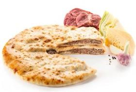 Пирог с говядиной, капустой, сыром - Фото