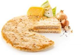 Пирог с сыром, капустой, грецким орехом - Фото