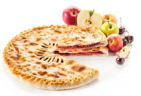Пирог с яблоком и вишней Бал-фаткуджин - Фото