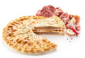 Пирог с говядиной и свининой - Фото