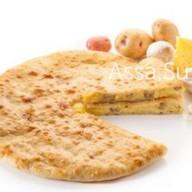 Пирог с сыром, грибами, картошкой Фото