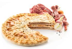 Пирог с говядиной и бараниной - Фото