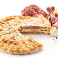 Пирог с говядиной и бараниной Фото