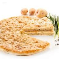 Пирог с картошкой и зеленым луком Фото