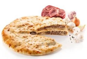 Пирог с мясом и грибами Козо-фыдджин - Фото