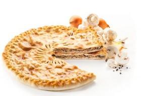 Пирог с грибами и луком Козоджын - Фото