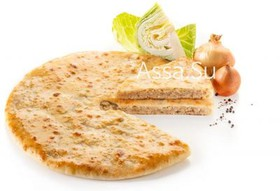 Пирог с капустой Кабускаджын - Фото