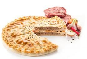 Пирог с мясом Фыдджин - Фото