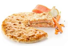 Пирог с семгой Сырх касаджын - Фото