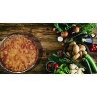 Киш лорен с картофелем, сыром и курицей Фото