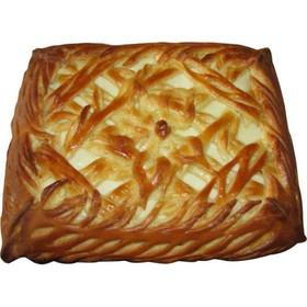 Пирог с брусникой и яблоком - Фото