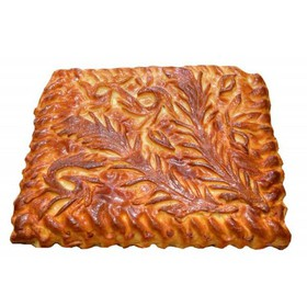 Пирог с капустой и мясом - Фото