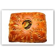 Пирог с печеными на гриле овощами Фото
