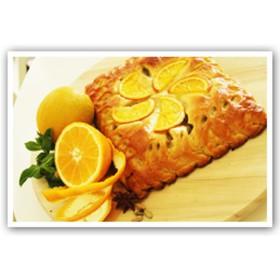 Пирог с апельсином и медом - Фото