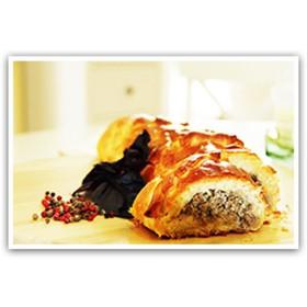 Пирог с телятиной - Фото