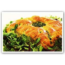 Пирог со шпинатом и брынзой - Фото
