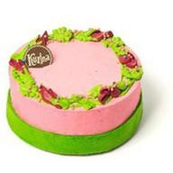 Торт Цветучино Малина-Фиалка Фото