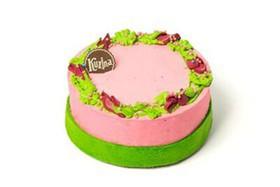Торт Цветучино Малина-Фиалка - Фото