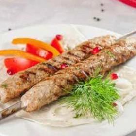 Люля-кебаб из свинины и говядины - Фото