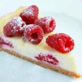 Лигурийский лимонный пирог с малиной - Фото