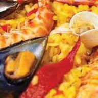 Паэлья с морепродуктами Фото