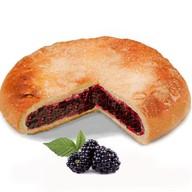 Пирог с ежевикой Фото