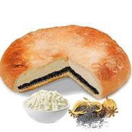 Пирог с творогом и маком Фото