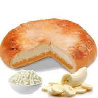 Пирог с творогом и бананом Фото