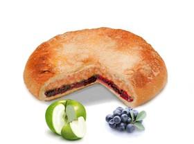 Пирог с яблоком и черникой - Фото