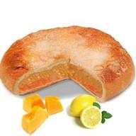 Постный пирог с тыквой и лимоном Фото