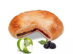 Постный пирог с яблоком и ежевикой - Фото