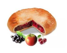 Постный пирог ассорти ягодное - Фото