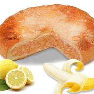 Пирог с бананом и лимоном Фото