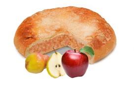 Пирог с грушей и яблоком - Фото