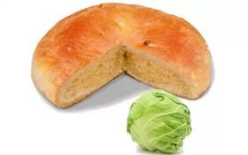 Постный пирог с капустой - Фото