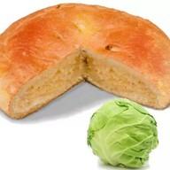 Постный пирог с капустой Фото