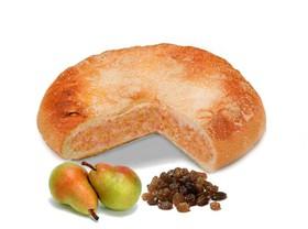 Пирог с грушей и изюмом - Фото