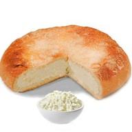 Песочный пирог с творогом Фото