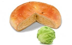 Пирог с капустой - Фото