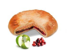 Пирог с яблоком и клюквой - Фото