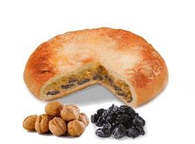 Пирог с орехом и черносливом - Фото