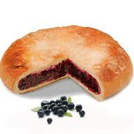 Пирог с голубикой Фото