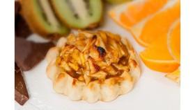 Перепечки с яблоком и корицей - Фото